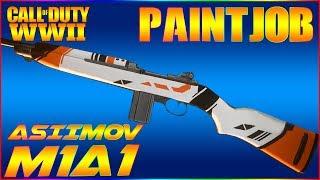 COD WW2 Paintjob Tutorial - Asiimov (M1A1)