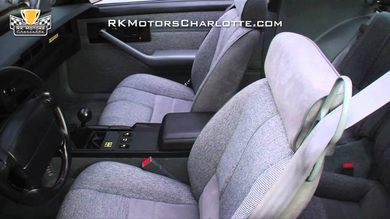 Camaro chevy camaro 5 speed manual transmission : 132765 / 1992 Chevrolet Camaro Z/28 - YouTube