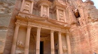 Felsenstadt Petra, Jordanien - In 124 Tagen um die Welt