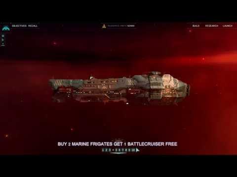 Buy 2 Marine Frigates get 1 Battlecruiser free!