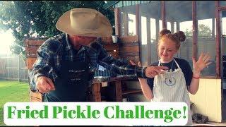 Best Fried Pickle Recipe Challenge!