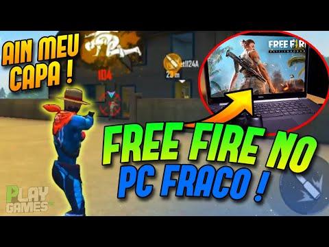 100% LEVE!COMO JOGAR FREE FIRE NO PC FRACO 😱 1GB RAM APENAS (NOVO EMULADOR/ ÚNICO QUE FUNCIONAR)  ✅