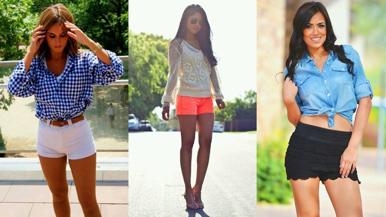 Moda en outfits con short 2015-2016 | Outfits de Moda con Short. - YouTube