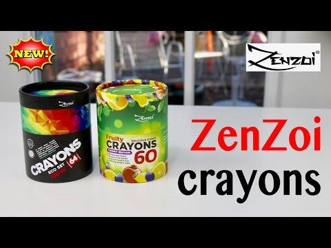 😍-zenzoi-❤️-crayons---demo-&-review-✅