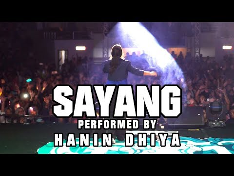 SAYANG - VIA VALLEN (Performed by) Hanin Dhiya at MALANG