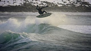 Surfers head to Norway to ride Arctic waves