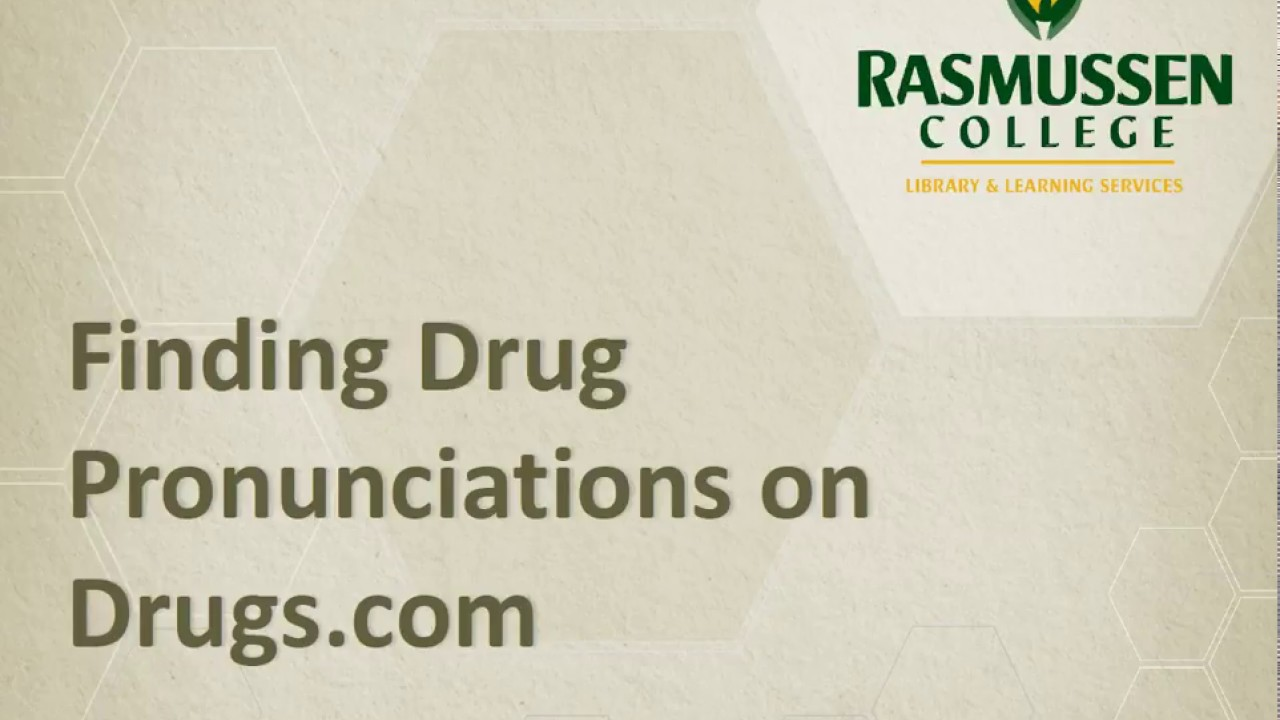 NUR2407 Pharmacology - *School of Nursing* - RasGuides at Rasmussen