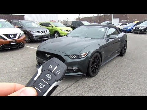 Ford Mustang Convertible Ecoboost Premium Walk Around and Test Drive Review