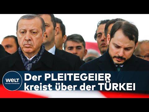HEFTIGE WIRTSCHAFTSKRISE: Erdogans Schwiegersohn tritt als Finanzminister der Türkei zurück