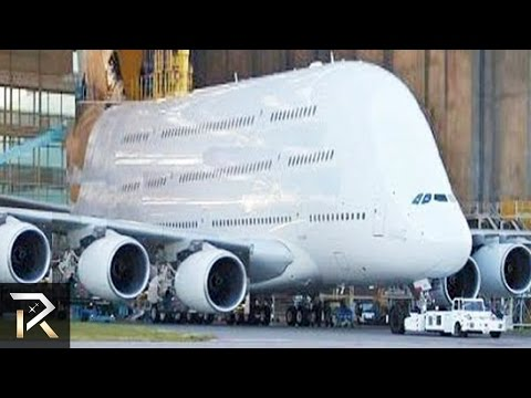 10 Abnormally Large Airplanes That Actually Exist