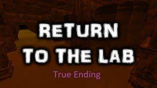 Roblox: Regreso al laboratorio (verdadero final)