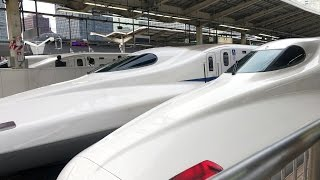 NOZOMI Bullet Train - Tokyo to Kyoto Time Lapse SONY FDR-X3000