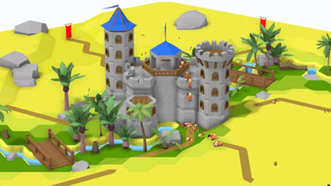 Castle Constructor - 城のブロックを積み上げて完成させた城で守るタワーディフェンスゲーム【実況】
