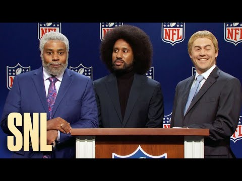 Football Press Conference Cold Open - SNL