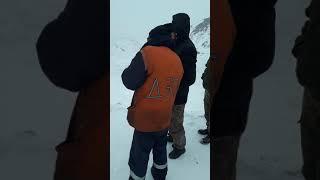 Сары- джаз энильчек  перевал 21 февраля 2019 г