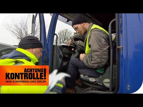 Mehr Mängel kaum möglich! Polizei lässt LKW-Neuling mächtig zahlen! | Achtung Kontrolle | kabel eins