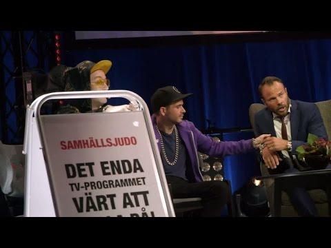 Ger igen på TV4 - kedjar fast David Hellenius - Samhällsjudo (TV4)