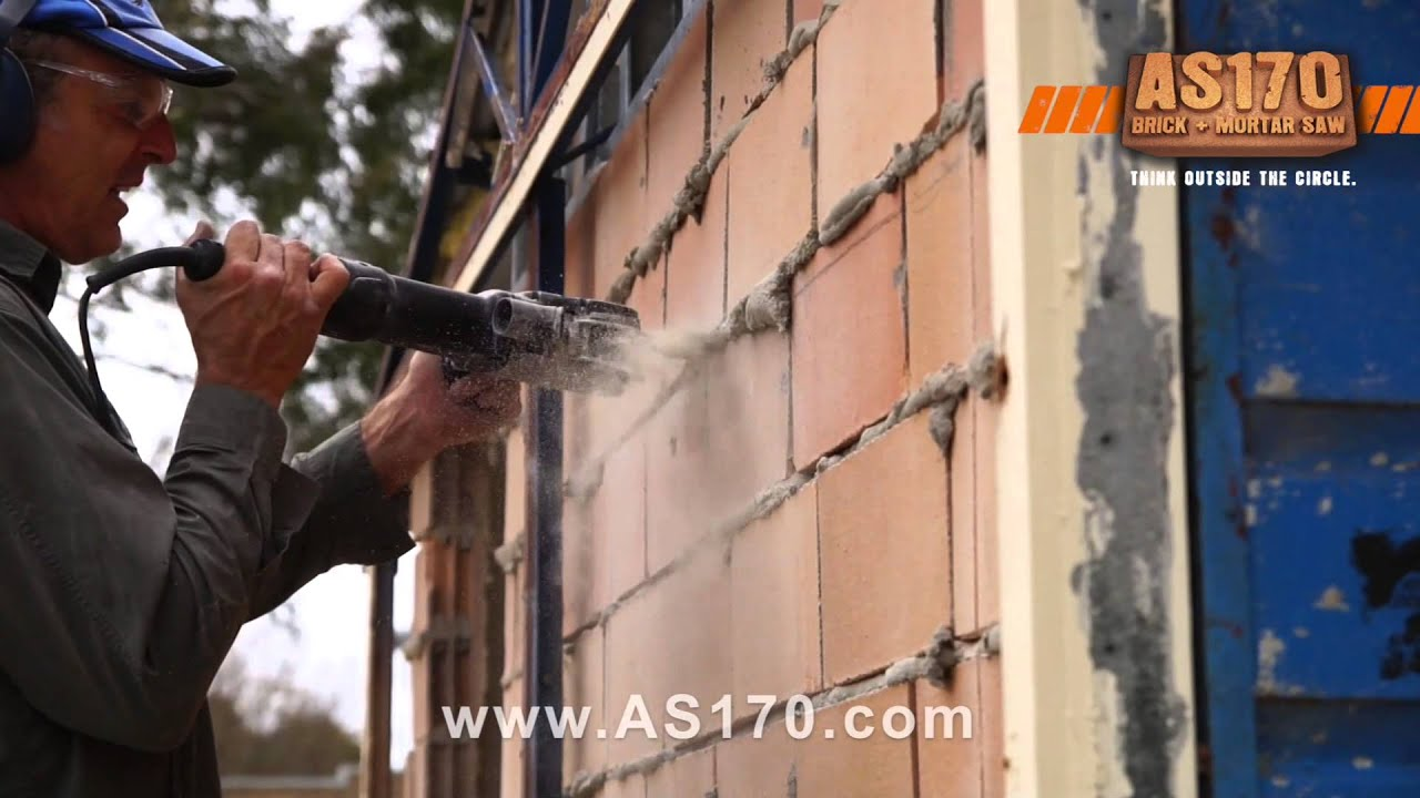 Nice How To Cut Brick Walls With The Arbortech AS170