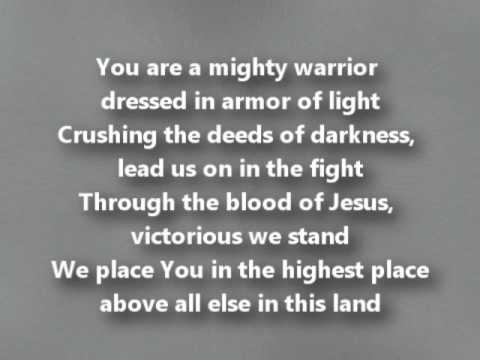 Above all Else (You are a Mighty Warrior) with Lyrics