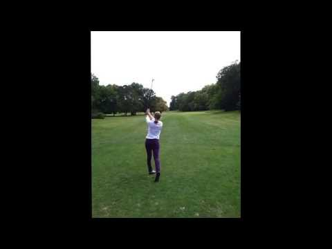 Girls Great golf swing #2