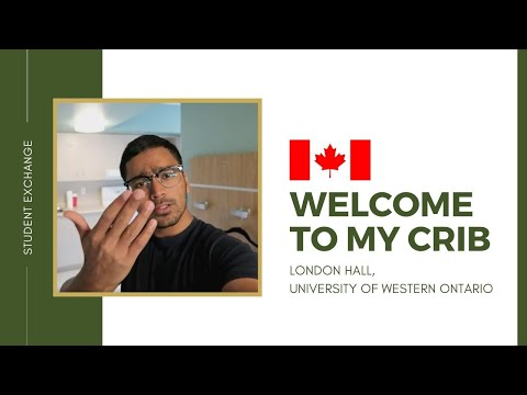 University of Western Ontario UWO  Welcome to my crib  London Hall!