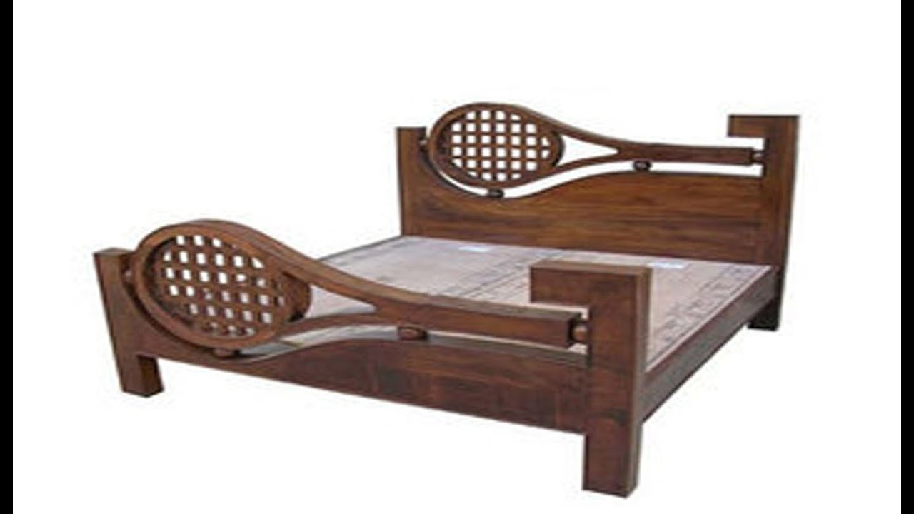 A Wonderful Best Collections Of Wooden Cot Models India Youtube