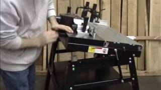 Precision Sliding Router Table Lifting Springs MLCS Woodworking