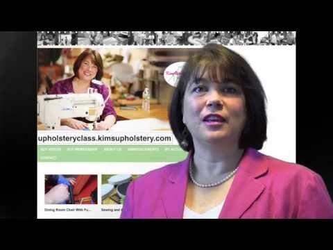 Upholstery Classes Online
