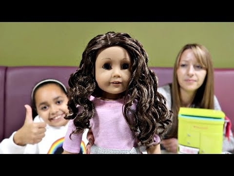 American Girl Doll At McDonald's - Happy Meal Surprise Toy Opening