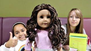 American Girl Doll At McDonald