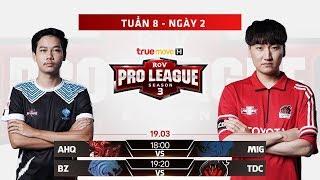 Trực Tiếp Bazaar Gaming vs Toyota Diamond Cobra - Ngày 2 Tuần 8 - RPL Thái Lan Mùa 3