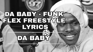 Gambar cover Da Baby - Funk Flex Freestyle Lyrics