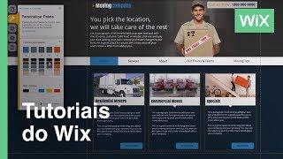 Cómo cambiar y personalizar los colores de tu sitio web | Wix.com
