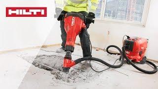 INTRODUCING the Hilti TE 2000-AVR concrete demolition hammer