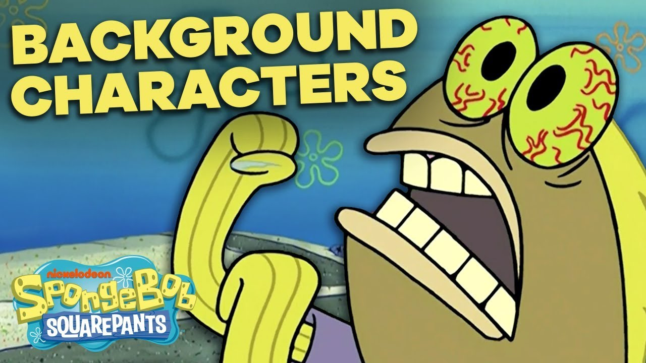 Download 50 Best SpongeBob Background Characters 🐟🐠 Greatest Lines & Side Fish!