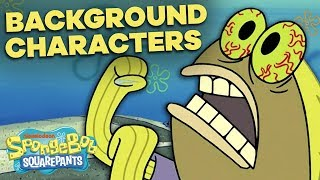 50 Best SpongeBob Backġround Characters 🐟🐠 Greatest Lines & Side Fish!