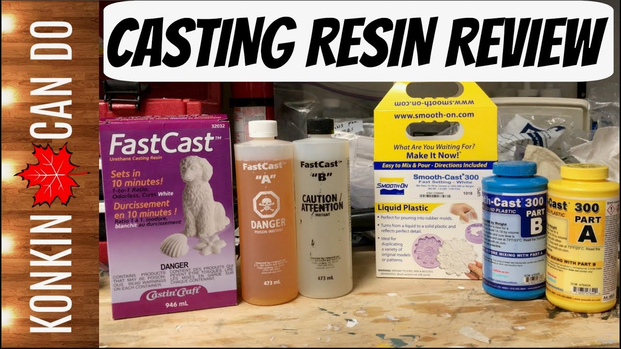 Best Casting Resin Review || FastCast vs Smooth-Cast 300