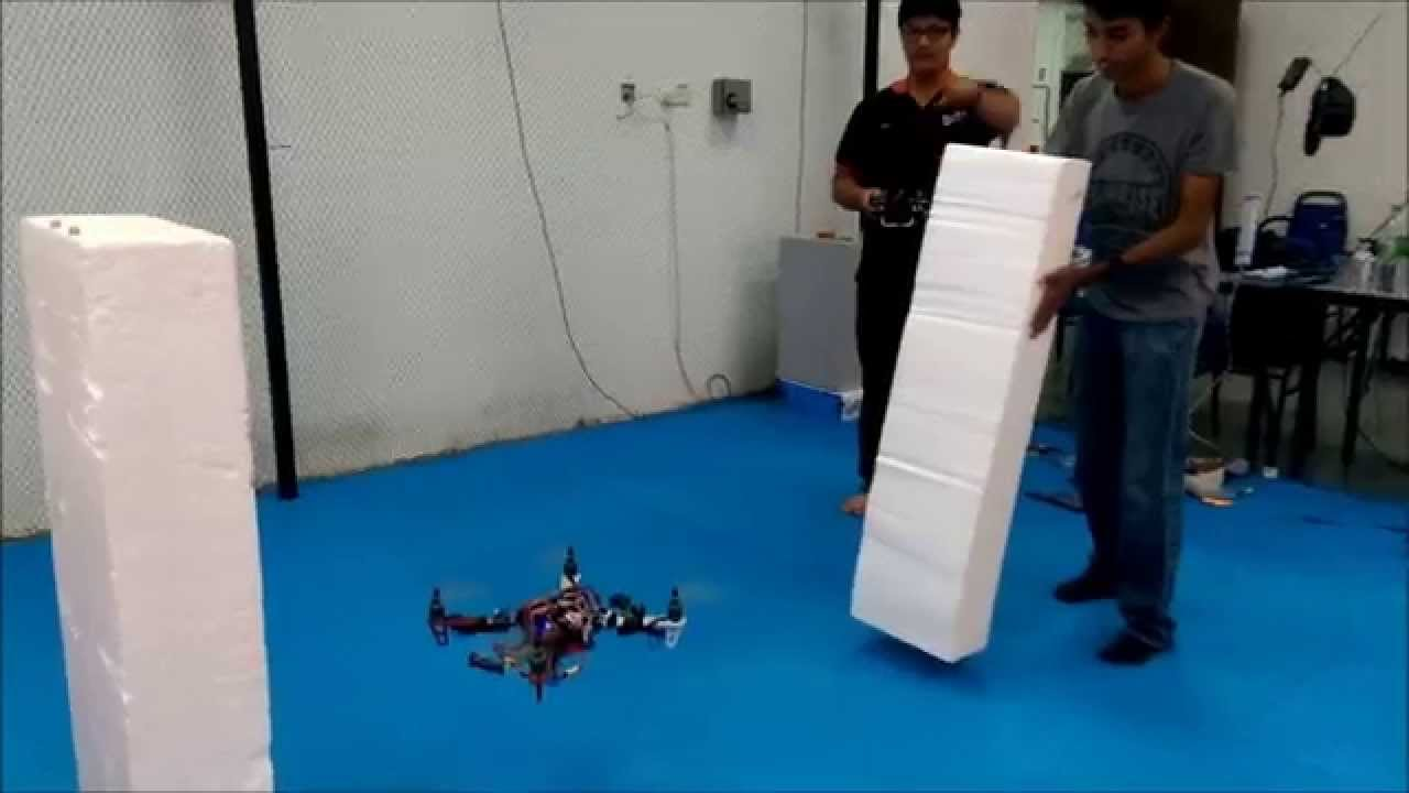 Collision Avoidance System for Quadrotor UAV using Low-Cost Sensors