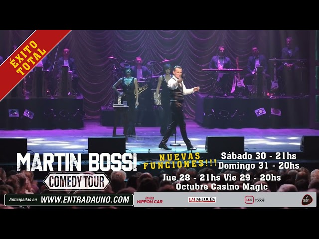 Martin Bossi / Comedy Tour - Fedorco Producciones
