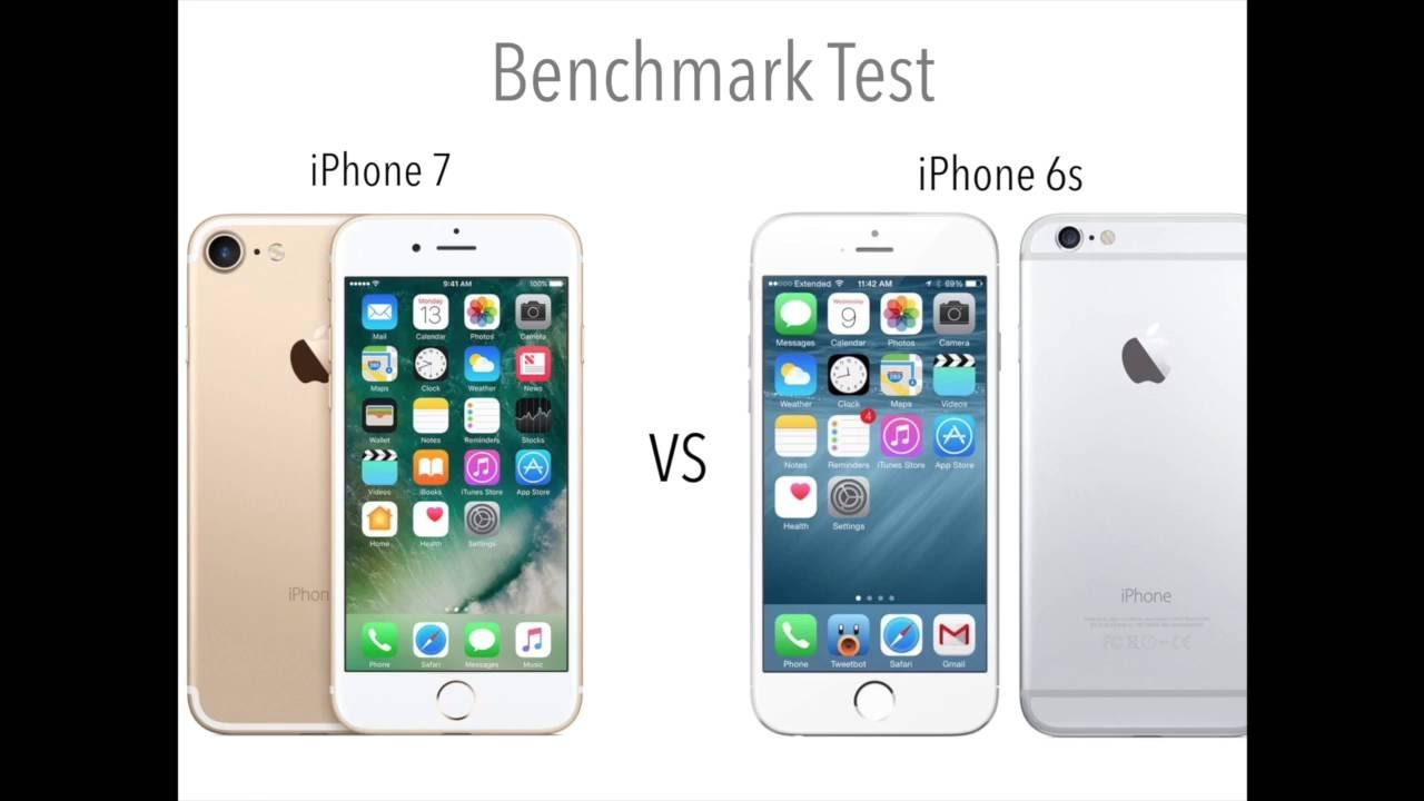 Iphone 6s vs iphone 7 benchmark