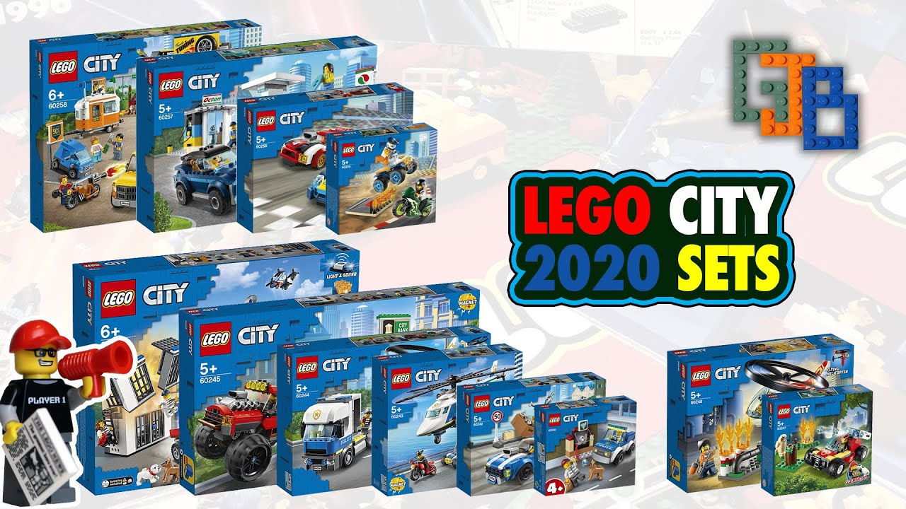 New LEGO City 2020 Sets & My thoughts on all the sets so ...