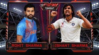 Rohit Sharma VS Ishant Sharma - Dressing Room Fight