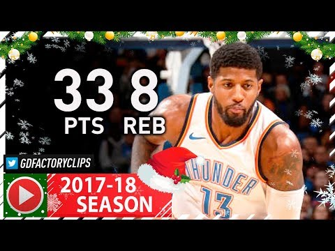 Paul George Full Highlights vs Raptors (2017.12.27) - 33 Pts, 8 Reb, GOES OFF!