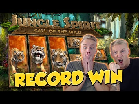 RECORD WIN!!! Jungle Spirit Big win - Casino - Online slots - Huge Win