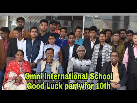 Omni International School/Good Luck party