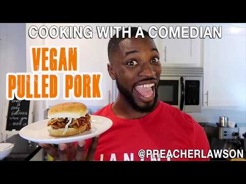 How To Make Vegan Pulled Pork - Cooking With A Comedian