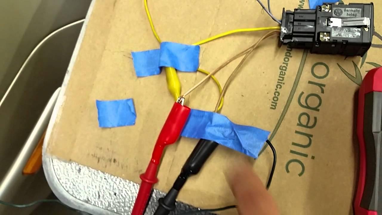 medium resolution of mkiv vw headlight leveling switch operation