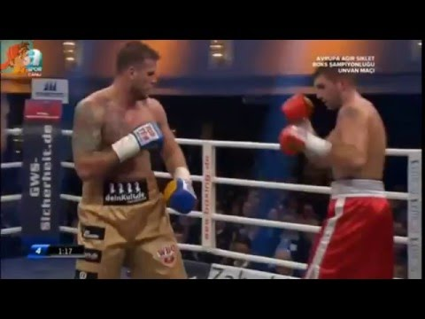 world heavyweight boxing championship 2016 I Michael Wallisch vs Ivica Bacurin Tiergarten