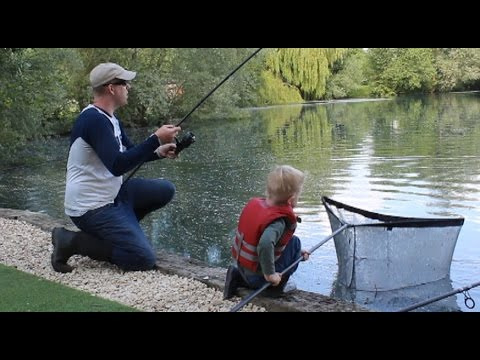 Carp Fishing England Part 2 - Cherry Lakes, Caerphilly Castle, Bibury Trout Farm