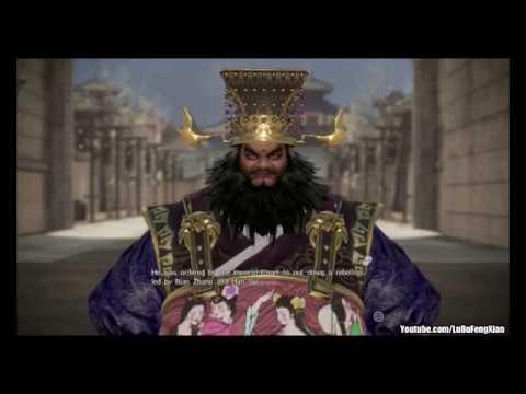 Dynasty Warriors 9 - Dong Zhuo Story Chaos Difficulty Part 1 - Fatman Begins / 真・三國無雙8 董卓 修羅 1